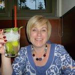 Cocktail in restaurant
