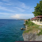 Cliff overlooking Sarangani Bay