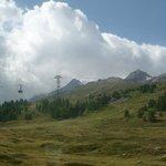 Bernina Diavolezza cable car