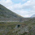 lago Bianco dam wall