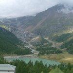 view - around Alp Glüm station