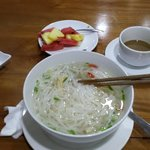 Nice vietnamese Breakfast Pho Bo