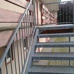 """Escada para o apartamento  """"economico"""""""