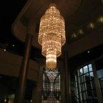Chandelier in Main Lobby