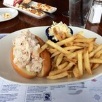 Crabmeat roll at Legal's Framingham - delicious!