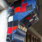 decor at Hundertwasserhaus