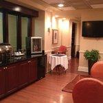 Club Lounge Food Service area