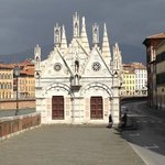 Detail shot of Santa Maria della Spina