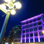 Facade changes Colours at Night