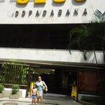 Sesc Copacabana.eu e meu filho.