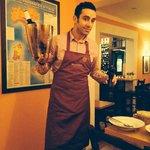 Super Service und essen in der Trattoria al. torchio