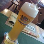 Weihenstephan beer at the Forst