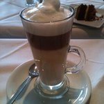 Hazelnut Latte!! Yum yum.