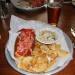Sam's Lobster roll - in the top 5 sandwiches in the USA!!