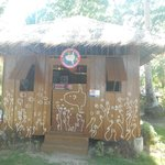 Watersports activity hut