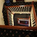 部屋までの階段