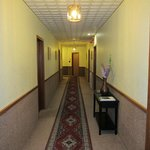 Corridor to room 110