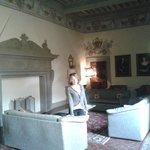 La stupenda sala al secondo piano