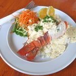Garlic Reef Lobster at Friends.