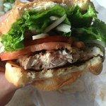 Ahi Burger, Well Done, Well Eaten