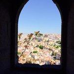 Do castelo tem-se uma linda vista de Lisboa.