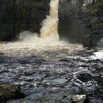 A very fierce waterfall