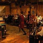 Irish Dancing in the Barn