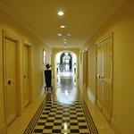 A corridor upstairs