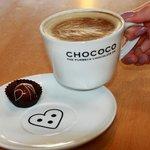 Latte at Chococo
