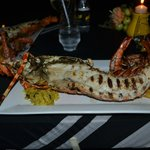 The Lobster meal is stunning....1.8 kilo lobster!