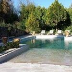 Belel piscine avec plage