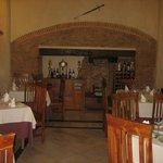 Restaurante La Posada de las Cigüeñas, situado dentro de una Capilla