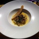 Cassoulet Mussels w. Safran