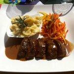 Filet of Lamb w. Ginger