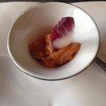 Salmon tartare amuse Bouche!