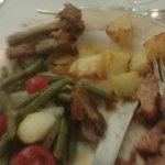 Lamb chops didn't take long to devour...scrummy