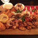 seafood mezze