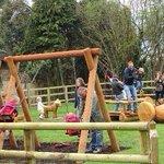 Playground in full swing