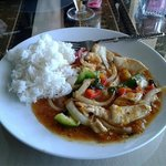 Mango Chicken Lunch Plate
