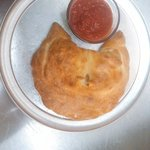 Our fresh made to order calzones.