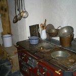 Küche im Heidihaus