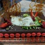 Gâteau d'anniversaire Royal Chocolat