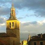 torre de San Miguel. Atardecer