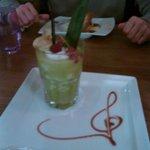 Un dessert vraiment très beau et excellent