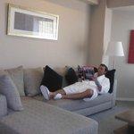 reading in my corner suite