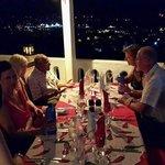 Evening view from Chilli Bar Restaurant...