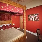 Four poster, ensuite room