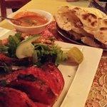 Tandoori-Chicken (halbes Hühnchen)