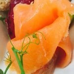 Beautiful Harrogate smoked salmon
