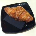 Croissant con crema catalana